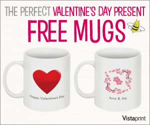 Free Mugs for Valentine's Day!