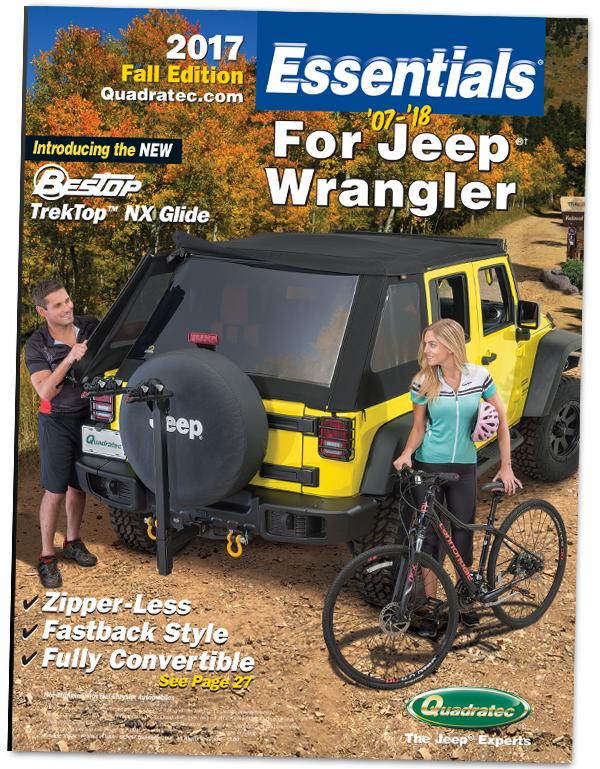 Free 2017 Quadratec Essentials Jeep Parts Catalog
