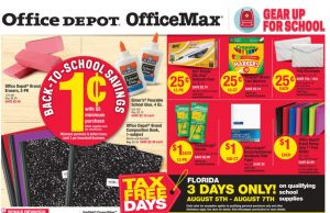 Office Depot Back To School Deals