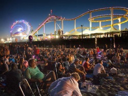Twilight Concerts at the Santa Monica Pier