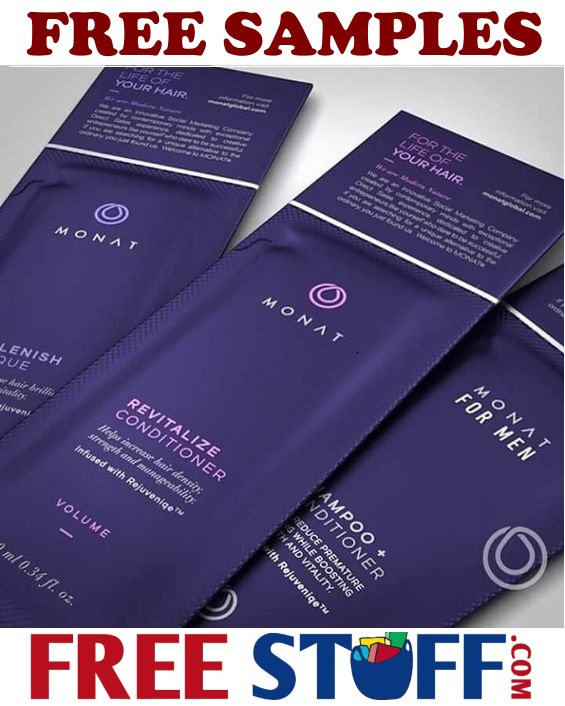 Free Monat Samples Shampoo and Conditioner