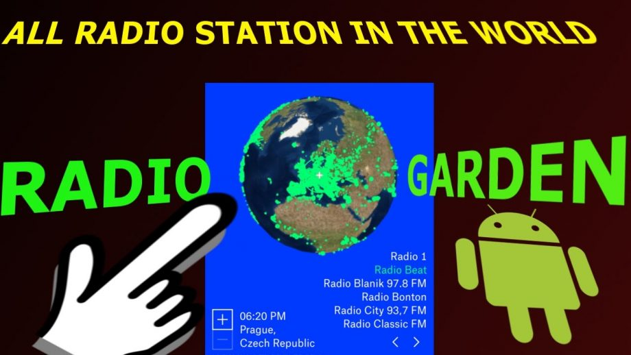Radio.Garden rocks the planet