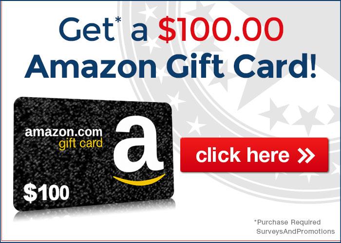 100 amazon gift card