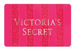 victoria secret pink gift card