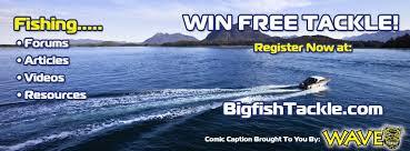 Win free fishing gear