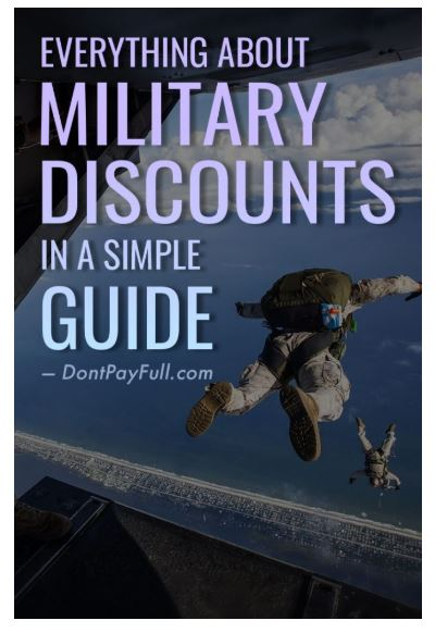 DPF Guide on Military Discount