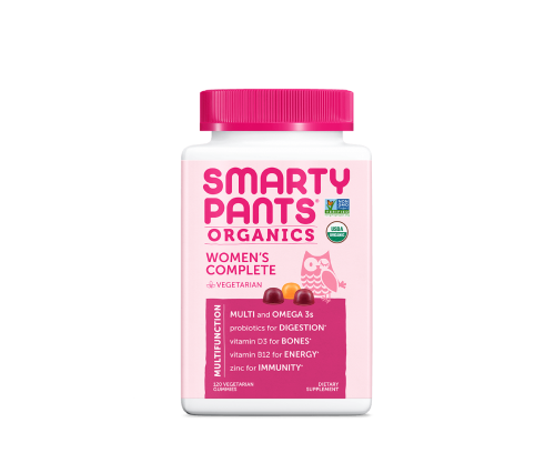 Organic Women's Multivitamins by Smarty Pants