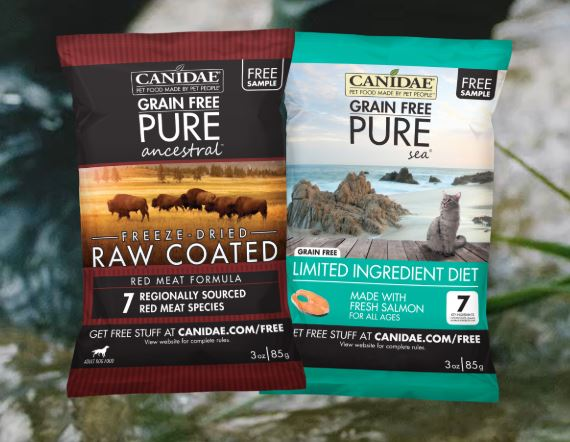 Free Sample of Canidae Dog Food with details at FreeStuff.com