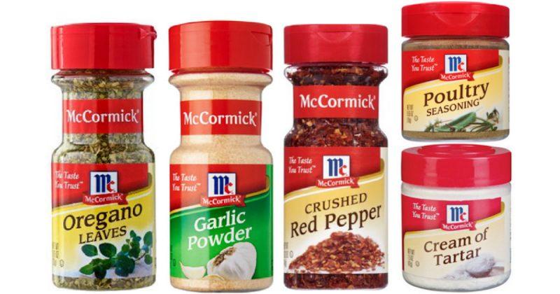 Free McCormick Samples