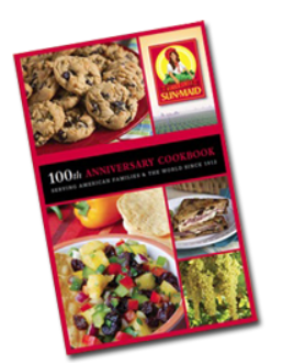 Free Cookbook from Sun-Maid - see FreeStuff.com for details