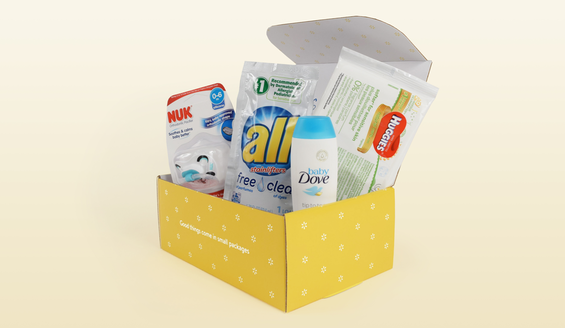 FREE Welcome Baby Box from Walmart
