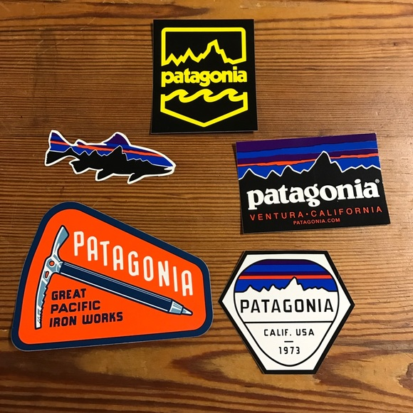 FREE Patagonia stickers info at FreeStuff.com