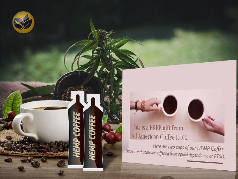 Free HEMP Coffee Samples by Mail