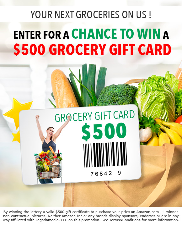 free gift cards without completing offers or surveys get a chance to win 500 in groceries 5511